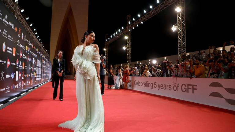An image that illustrates this article El Gouna Film Festival Feathers-Full Moon-Amira - in pictures