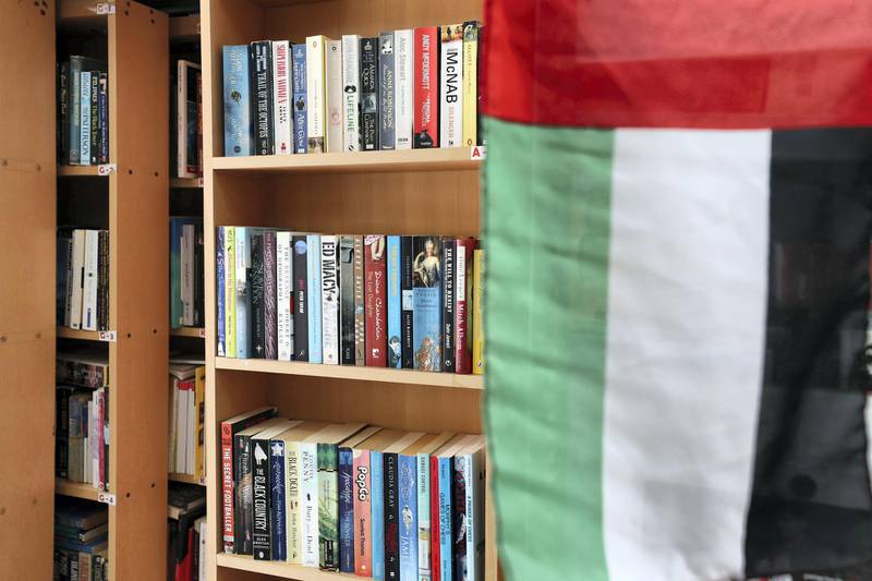 Abu Dhabi, United Arab Emirates - July 10th, 2018: Thrift distribution and Books, Abu Dhabi's only secondhand bookshop. Tuesday, July 10th, 2018 in Abu Dhabi. Chris Whiteoak / The National