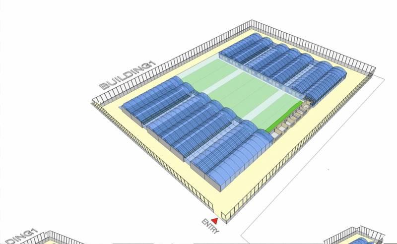 A new 9,600-square-metre farm is being built at Dubai jail. Courtesy Dubai Police