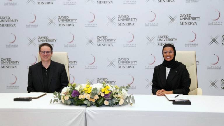 An image that illustrates this article Zayed University offers versatile new courses to prepare 'leaders of the future'
