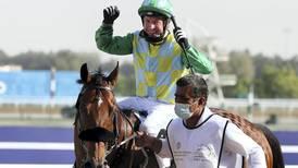 Champion jockey Tadhg O'Shea dedicates UAE success to the late Sheikh Hamdan bin Rashid