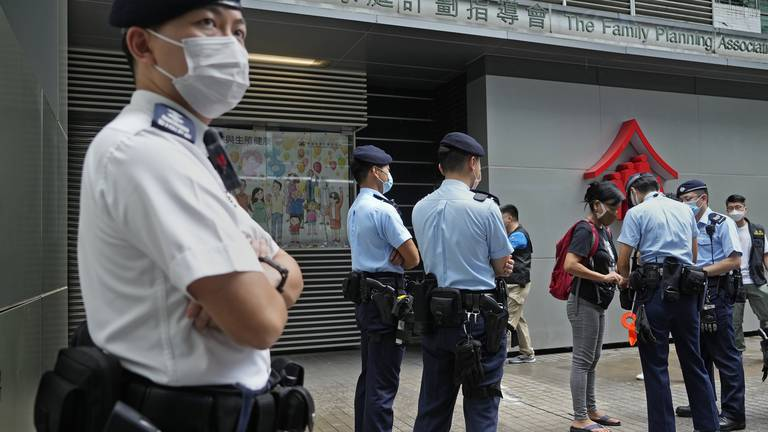 An image that illustrates this article Revamped Hong Kong polls will hand office only to 'patriots'