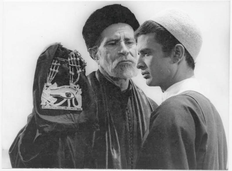 A still from Shadi Abdel Salam's 1969 film The Night of Countring the Years, also known as The Mummy. courtesy: IMDb