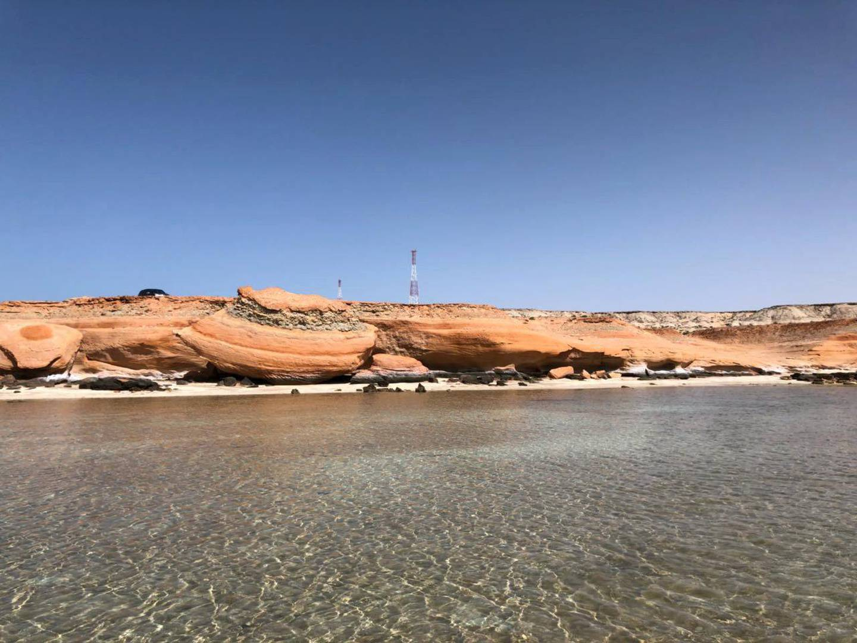 ABU DHABI, UNITED ARAB EMIRATES. 08 AUGUST 2018. Shuweihat Island along the E11 near the border of Saudi Arabia on the western edge of the UAE. (Photo: Supplied by Steve Flawith) Journalist: Kevin Hackett. Section: National.