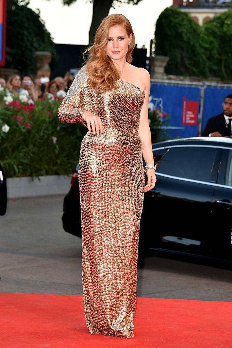 VENICE, ITALY - SEPTEMBER 02:  Amy Adams attends the premiere of 'Nocturnal Animals' during the 73rd Venice Film Festival at Sala Grande on September 2, 2016 in Venice, Italy.  (Photo by Pascal Le Segretain/Getty Images)