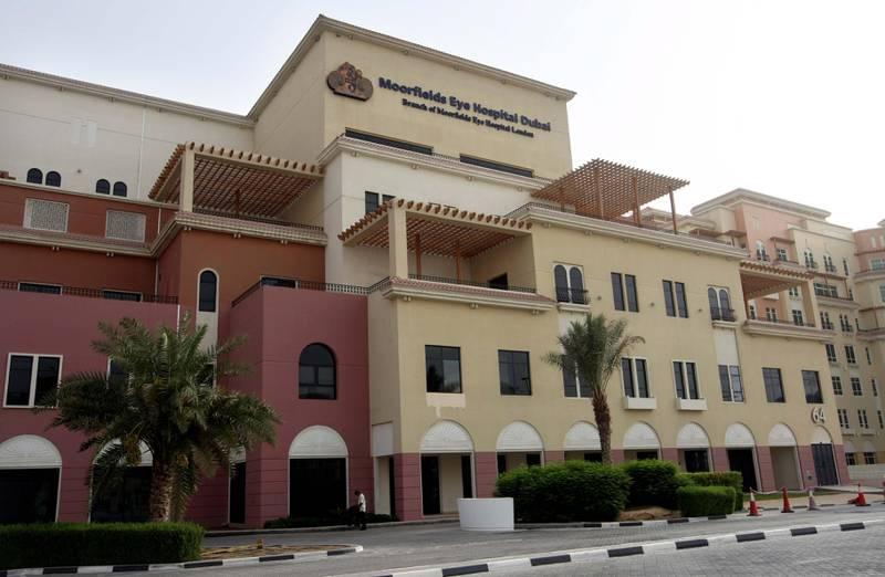 DUBAI . 8th July. 2009. Moorfields Eye Hospital in Dubai . Stephen Lock  /  The National . FOR STOCK. *** Local Caption ***  SL-eye-007.jpg