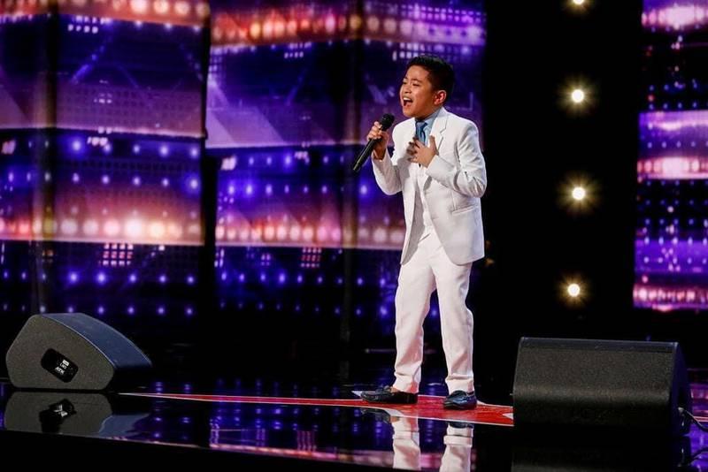 Abu Dhabi-born Peter Rosalita, 10, on the 16th season of 'America's Got Talent'. Instagram / peter.rosalita