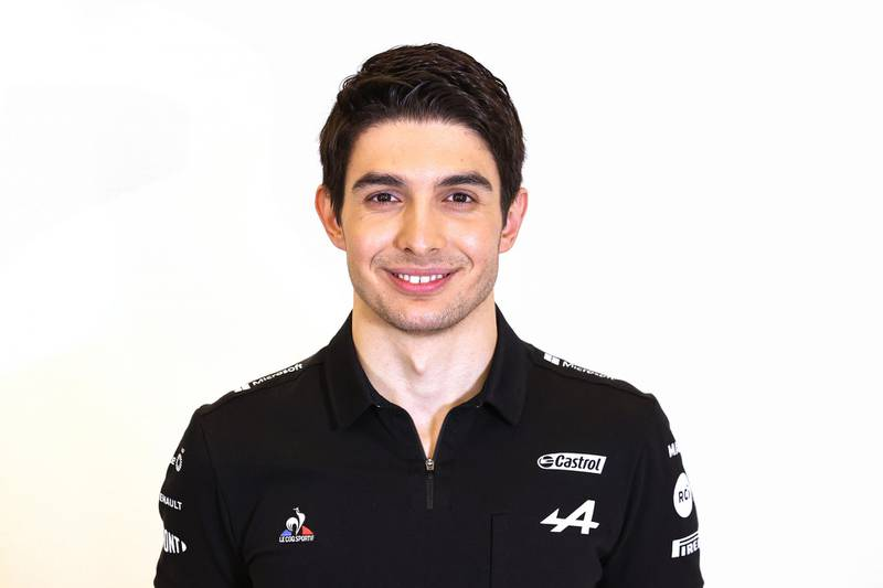 Handout photo dated 02/03/2021 provided by Alpine F1 of driver Esteban Ocon during the Alpine F1 - A521 launch. Issue date: Tuesday March 3, 2021. PA Photo. See PA story AUTO Alpine. Photo credit should read: Alpine F1/Handout/PA Wire.NOTE TO EDITORS: This handout photo may only be used in for editorial reporting purposes for the contemporaneous illustration of events, things or the people in the image or facts mentioned in the caption. Reuse of the picture may require further permission from the copyright holder.