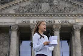 Greta Thunberg at German climate rally: no party is doing enough