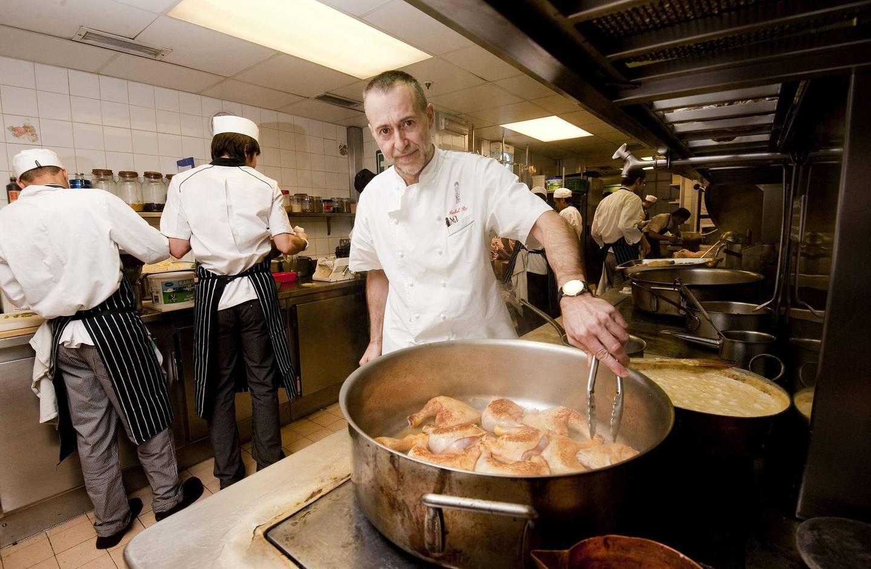 Mandatory Credit: Photo by Shutterstock (1302929j) Michel Roux Jnr Michel Roux Jnr at his restaurant Le Gavroche, London, Britain - 14 Feb 2011