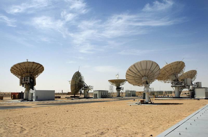 ABU DHABI - 10MAR2011 - Yahsat, the UAE based satellite communication centre in Abu Dhabi. Ravindranath K / The National