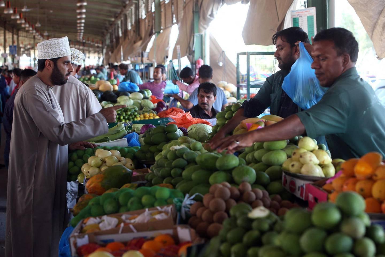 Oman's biggest fruits and vegetables market in Mawaleh, Muscat. AFP