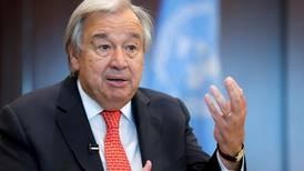 Glasgow Cop26 summit at risk of failure, warns UN chief
