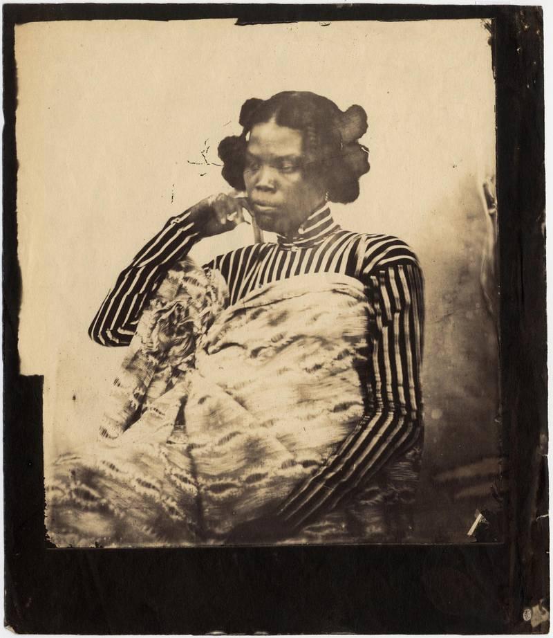 Sans titre. Portrait d'une femme.