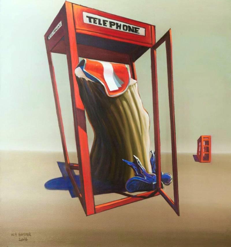 Memory In Silence by Iraqi artist, Ala Bashir. Courtesy Ala Bashir