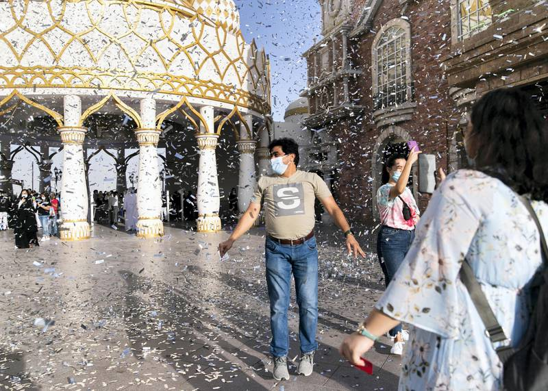 DUBAI, UNITED ARAB EMIRATES. 25 OCTOBER 2020. Global Village celebrates it's 25th season this year.(Photo: Reem Mohammed/The National)Reporter:Section: