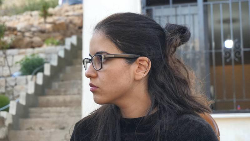 Raghida Tawk, in Bsharreh, Lebanon, August 9, 2020. Photo by Aram Abdo