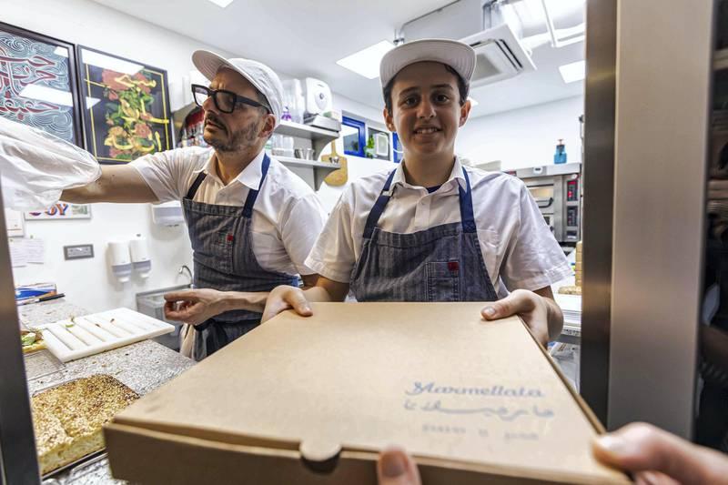 Marmellata in Abu Dhabi. Courtesy of Grace Guino