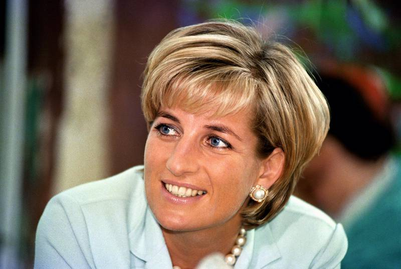 Diana, the Princess of Wales during her visit to Leicester, to formally open The Richard Attenborough Centre for Disability and Arts. 27/05/1997 Picture: John Stilwell/PA Photoso   (Photo by John Stillwell - PA Images/PA Images via Getty Images)