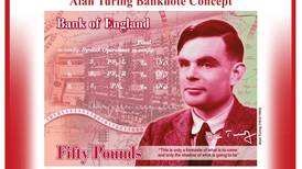 World War Two codebreaker Alan Turing to be face of £50 note