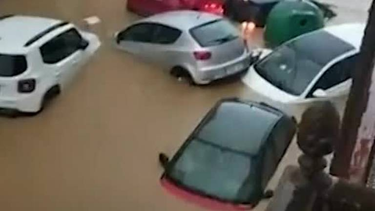 An image that illustrates this article Floodwater engulfs parts of southern Spain after heavy rainfall