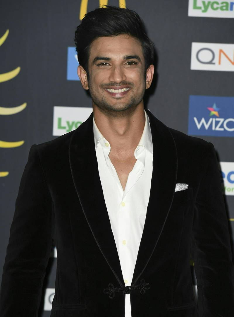 """Bollywood Actor Bollywood Actor Sushant Singh Rajput  arrives for IIFA Rocks July 14, 2017 at the MetLife Stadium in East Rutherford, New Jersey during the 18th International Indian Film Academy (IIFA) Festival. (Photo by ANGELA WEISS / AFP) / """"The erroneous mention appearing in the metadata of this photo by ANGELA WEISS has been modified in AFP systems in the following manner: [Sushant Singh Rajput] instead of [Varun Dhawan]. Please immediately remove the erroneous mention from all your online services and delete it  from your servers. If you have been authorized by AFP to distribute it to third parties, please ensure that the same actions are carried out by them. Failure to promptly comply with these instructions will entail liability on your part for any continued or post notification usage. Therefore we thank you very much for all your attention and prompt action. We are sorry for the inconvenience this notification may cause and remain at your disposal for any further information you may require."""""""