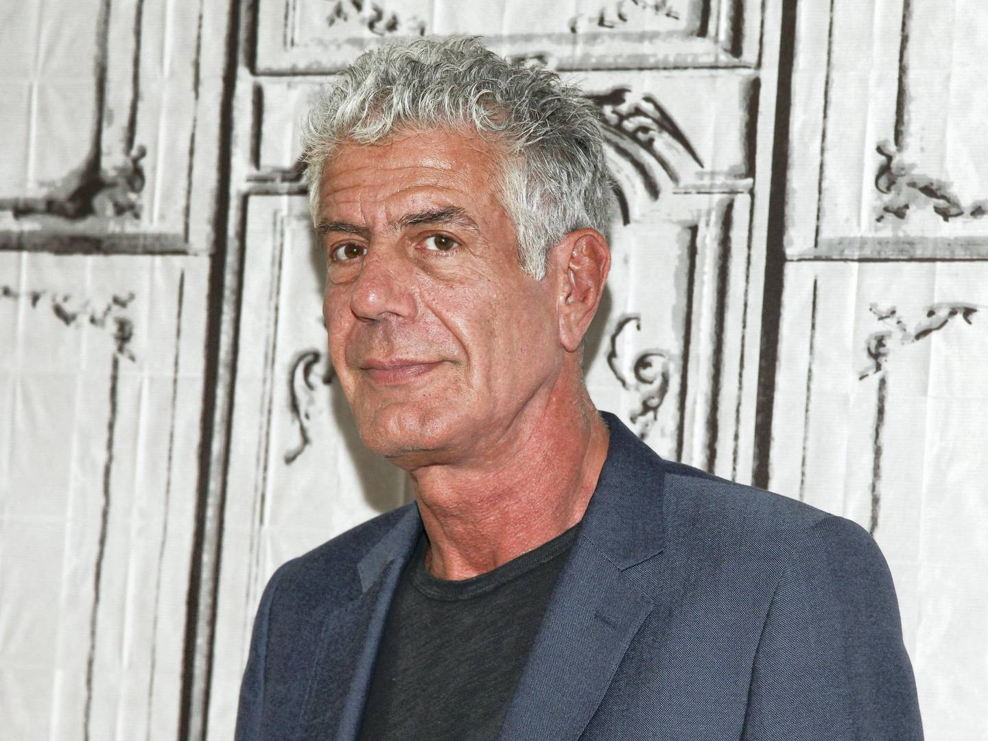 """FILE - In this Nov. 2, 2016, file photo, Anthony Bourdain participates in the BUILD Speaker Series to discuss the online film series """"Raw Craft"""" at AOL Studios in New York. New Jersey might honor celebrity chef Bourdain, writer and host of the CNN series """"Parts Unknown"""" killed himself Friday, June 8, 2018, with a food trail. Democratic Assemblyman Paul Moriarty on Monday, June 18, 2018, introduced a resolution that would establish the """"Anthony Bourdain Food Trail."""" Bourdain grew up in the New Jersey suburb of Leonia. (Photo by Andy Kropa/Invision/AP, File)"""