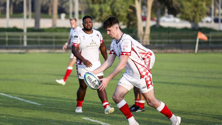 An image that illustrates this article Abu Dhabi Harlequins back with a bang as rugby returns