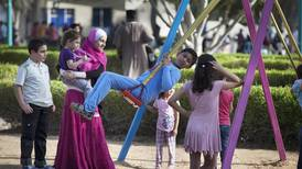 When is the half-term holiday for schools in the UAE?