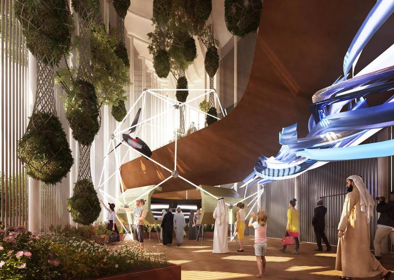 Rendering of Italian pavilion at Expo 2020. Courtesy: Italy Expo 2020