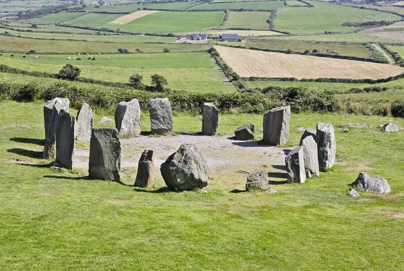 Mandatory Credit: Photo by imageBROKER/Shutterstock (1850495a)Drombeg Stone Circle, County Cork, IrelandVARIOUS