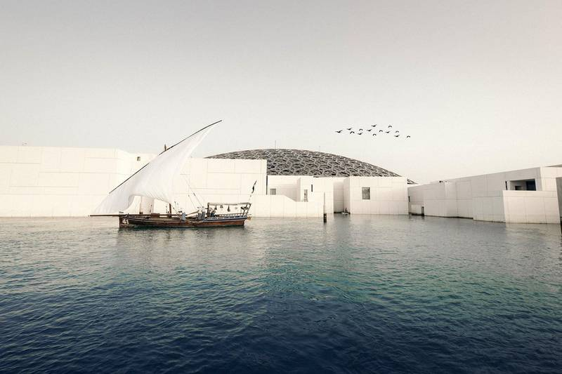 Abu Dhabi Hotels Record Strong Double-Digit Rise in Revenues in Q1 of 2019. Photo shows Louvre Abu Dhabi. Courtesy DCT Abu Dhabi