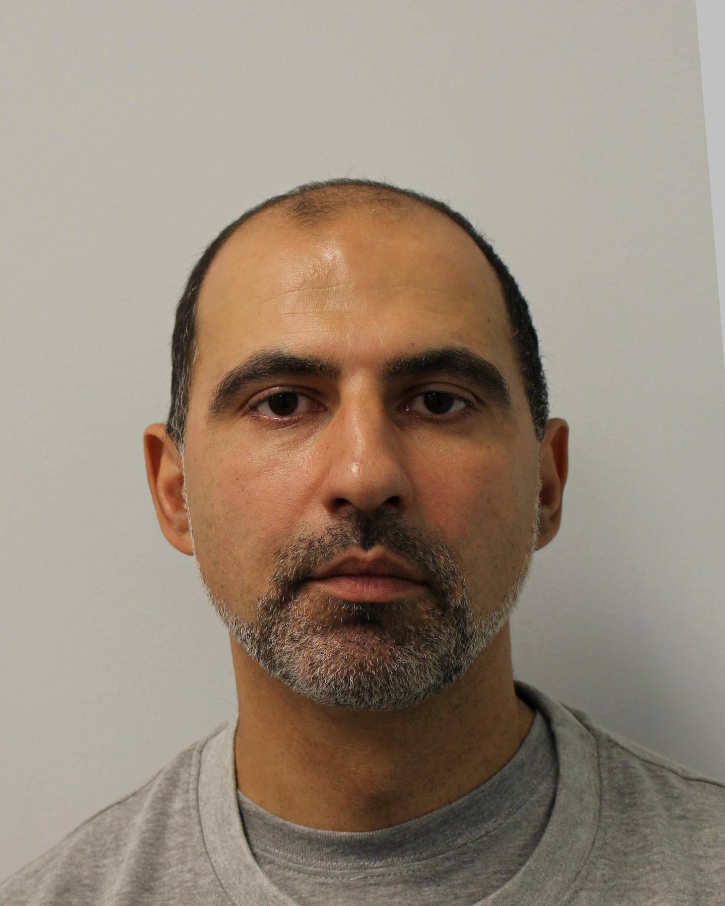 Quissem Medouni is seen in an undated booking photograph handed out by the Metropolitan police in London, Britain. Kouider, along with his partner Sabrina Kouider, was sentenced to life for torturing and murdering their nanny Sophie Lionnet at the Old Bailey in London June 26, 2018. Metroploitan Police handout via REUTERS NO RESALES. NO ARCHIVES  THIS IMAGE HAS BEEN SUPPLIED BY A THIRD PARTY. IT IS DISTRIBUTED, EXACTLY AS RECEIVED BY REUTERS, AS A SERVICE TO CLIENTS