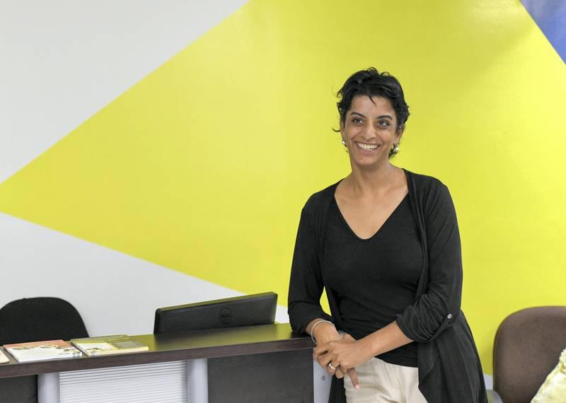 Lotus Training Centre-AD Maya Motlik, Volunteer as the Head of Business Development at the registered facility of Lotus Holistic Retal Training Centre in the capital on June 20, 2021. Khushnum Bhandari/ The National Reporter: Haneen Dajani News