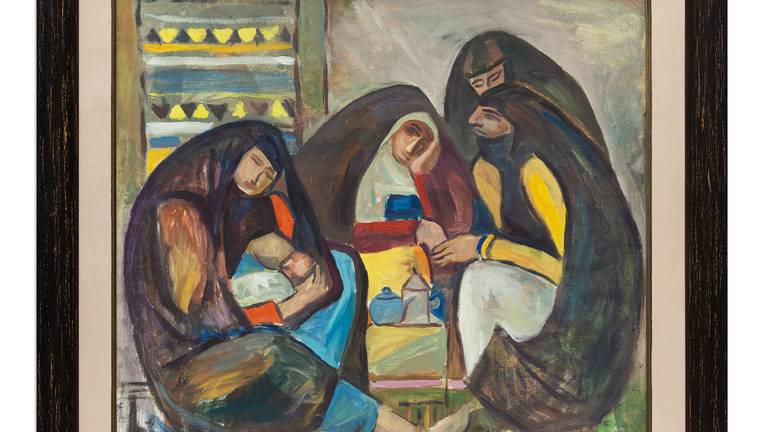 An image that illustrates this article Art from Sheikh Mohammed's collection to go on view at Etihad Museum