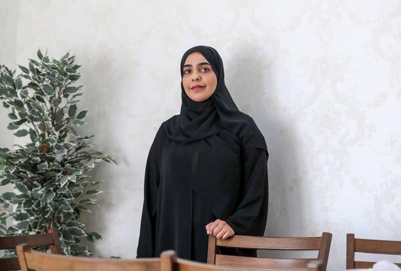 Nora Al Neyadi-Al Ain Nora Al Neyadi, Emirati teacher wins best teacher award, Al Ain on June 29, 2021. Khushnum Bhandari/ The NationalReporter: Shireena Al Nowais News
