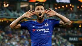 Chelsea v Arsenal: Olivier Giroud derby takes place with the man himself heading for the exit
