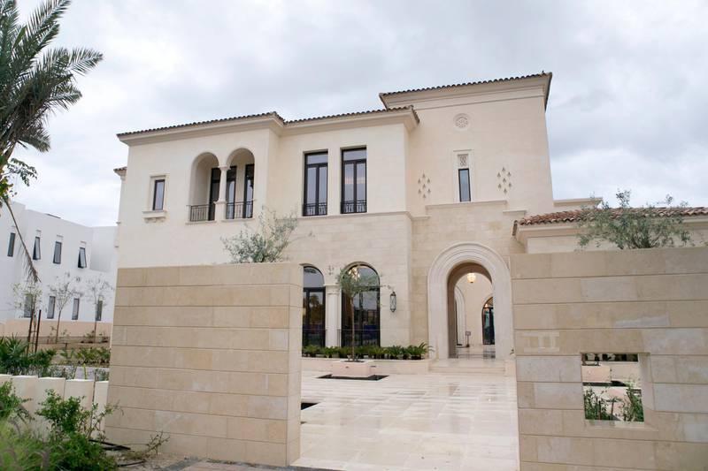 DUBAI, UNITED ARAB EMIRATES, MAR 9, 2016. Emaar's Dubai Hills Estate villa. Photo: Reem Mohammed / The National (Reporter: Michael Fahy / Section: BZ) ID 33359 *** Local Caption ***  bz10mr-dubai-hills-25.JPG