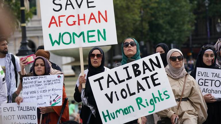 An image that illustrates this article Afghan women may die because of 'Taliban gender rules'