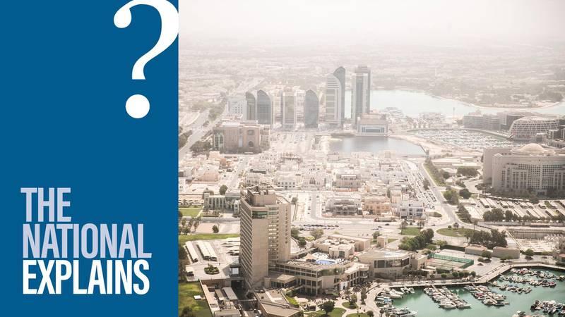 ABU DHABI, UNITED ARAB EMIRATES - SEPTEMBER 10, 2018. Abu Dhabi city seen from Etihad Tower.(Photo by Reem Mohammed/The National)Reporter: Jennifer GnanaSection:  BZ