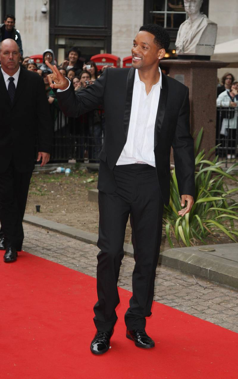 LONDON - JUNE 18:  Actor Will Smith arrives at the Hancock Premiere at Vue Cinema in Leicester Square on June 18, 2008 in London, England.  (Photo by Gareth Cattermole/Getty Images)