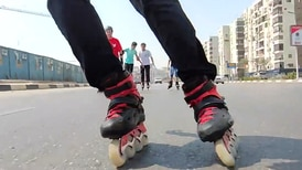 The pandemic unleashes skating craze in Egypt's streets
