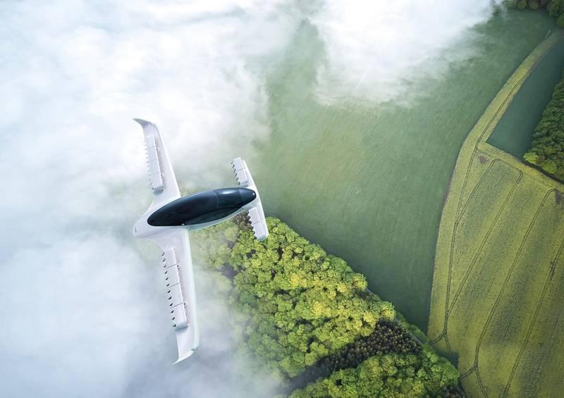 Lilium Air Taxi. Courtesy Lilium GmbH