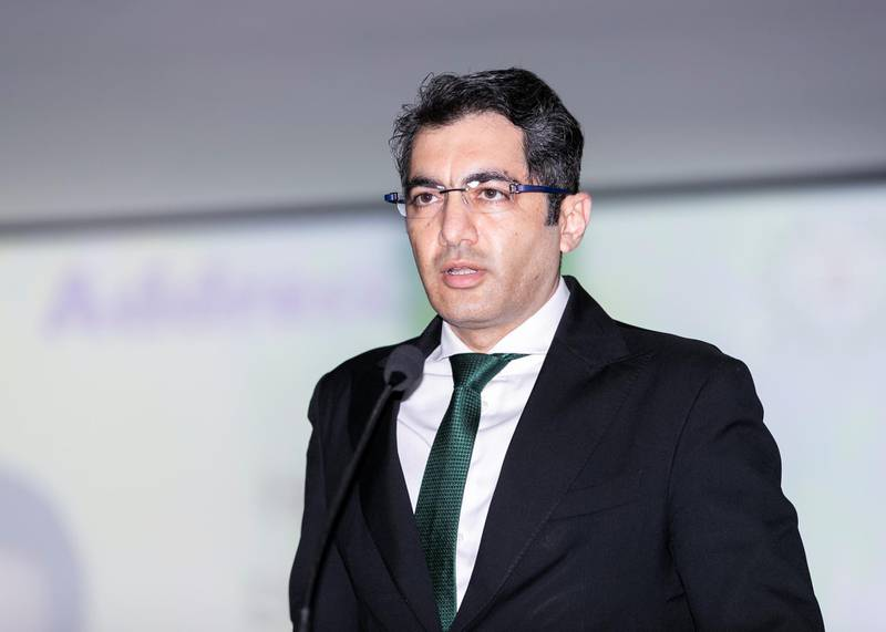 DUBAI, UNITED ARAB EMIRATES. 20 JANUARY 2020. Dr. Aman Puri, Consul General of India in Dubai, at at Delhi Private School in Dubai, where a program has been launched to help blue collar workers learn soft skills and language.(Photo: Reem Mohammed/The National)Reporter:Section: