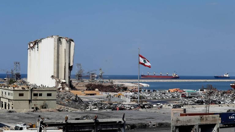 An image that illustrates this article Lebanon seizes ammonium nitrate in fertiliser warehouse raid