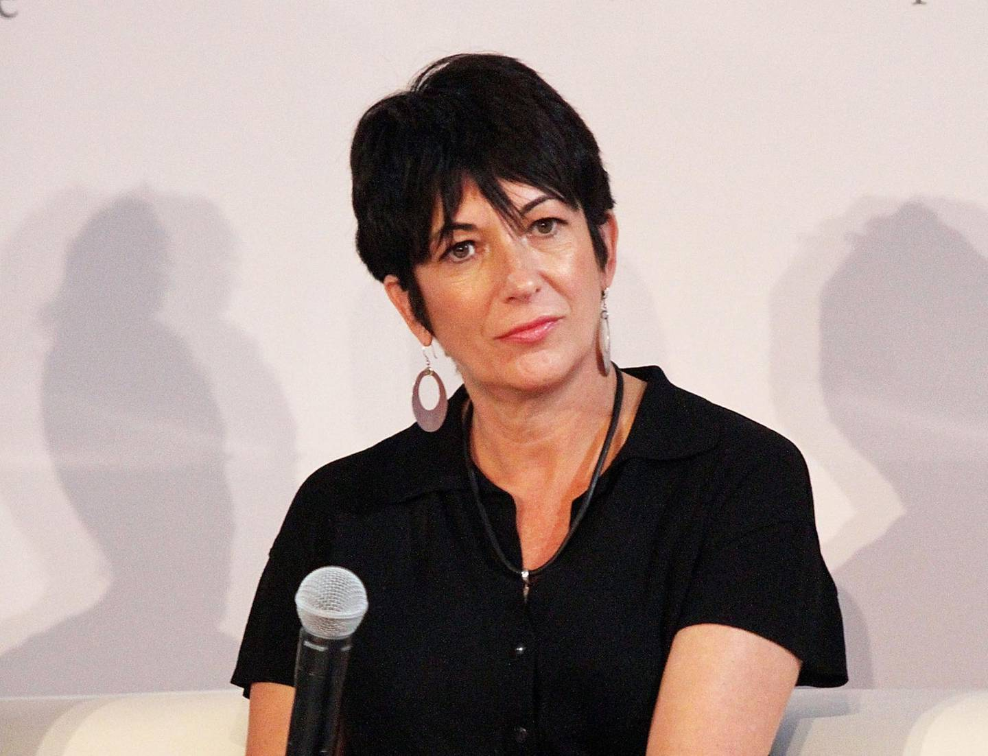 (FILES) In this file photo taken on September 20, 2013, Ghislaine Maxwell attends day 1 of the 4th Annual WIE Symposium at Center 548  in New York City.    Maxwell, the former girlfriend of late financier Jeffrey Epstein, was arrested in the United States on July 2, 2020, by FBI officers investigating his sex crimes, multiple US media outlets reported. / AFP / GETTY IMAGES NORTH AMERICA / Laura Cavanaugh
