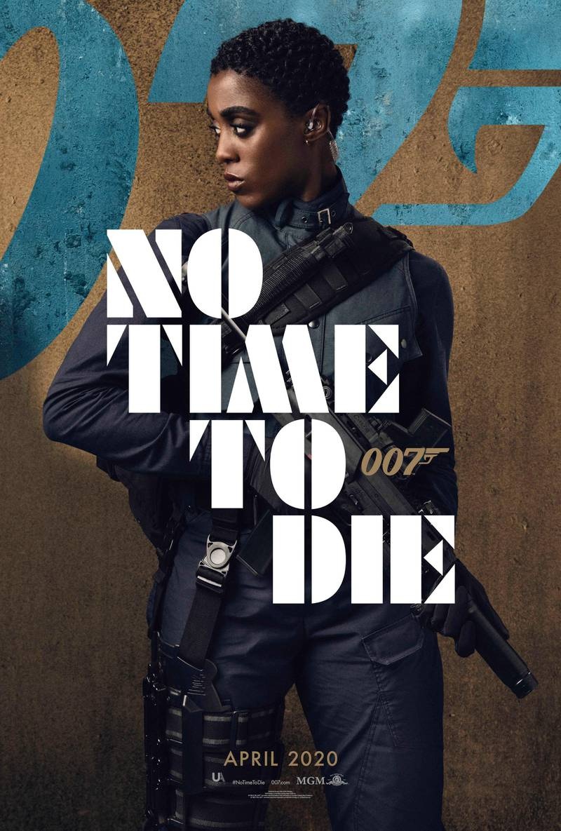 No Time To Die poster featuring Lashana Lynch. Courtesy MGM