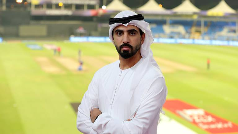 An image that illustrates this article The football-mad son helping deliver his father's cricket dreams in Sharjah