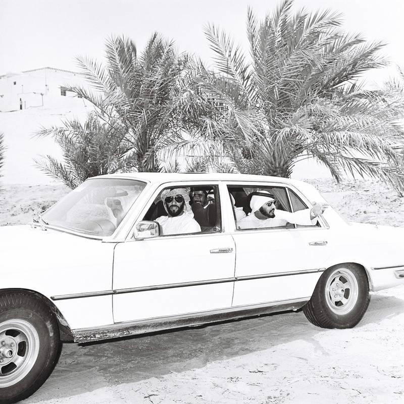 An image from the Itihad archive. Courtesy Al Itihad.Abu Dhabi, UAE. 1979. Sheikh ZayedÕs visit to Liwa and Delma Island. *** Local Caption ***  000065.JPG