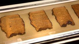 Dead Sea Scroll collection in US museum found to be fake